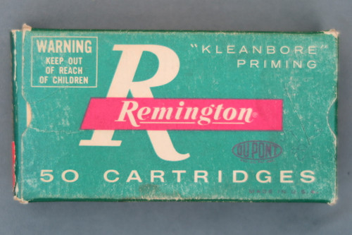 22 Remington Jet Ammunition, Top