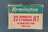 22 Remington Jet Ammunition, Right End