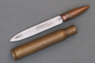 WW2 Trench Art Bullet Knife