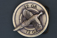 Pheasant Belt Buckle
