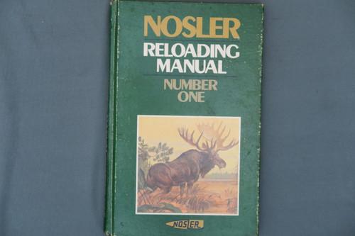 Nosler Reloading Manual Number One