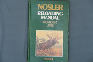 Nosler Reloading Manual Number One