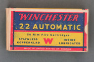 Winchester 22 Automatic 1939 Issue, Top