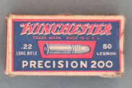 Winchester Precision 200 Target Cartridges, Top