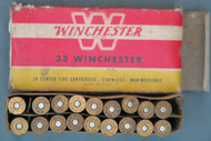 33 Winchester Ammo And Box