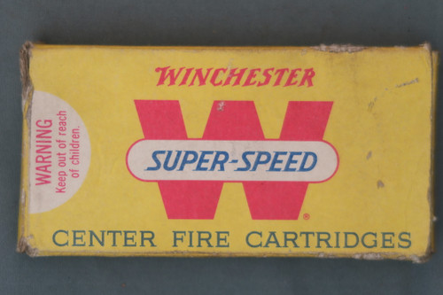 225 Winchester Ammo Box Front