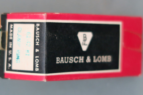 Bausch & Lomb Standard 61-42-81 Clamp Ring Assembly In Box