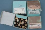 7.63 X 25 Mauser Pistol Ammo