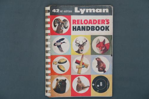 Lyman Reloader's Handbook 42nd Edition