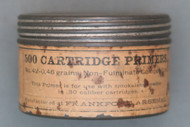 Frankford Arsenal Primer Tin Front