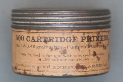 Frankford Arsenal Primer Tin Front