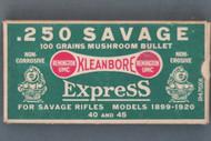Remington Express .250 Savage Train Box, Top