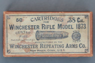 .38 Cal. Cartridges For Winchester Rifle Model 1873, Top