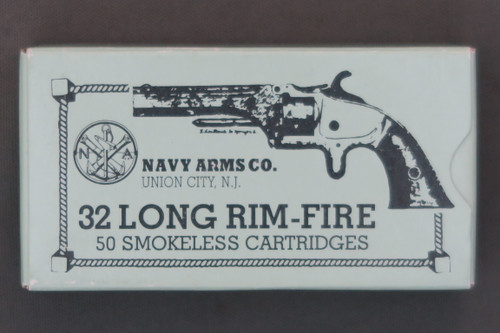 32 Long Rim Fire Shooter Ammunition By Navy Arms, Top