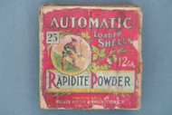 Robin Hood Rapidite Powder Automatic Loaded Shells 12 Gauge Box Top
