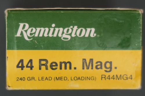 44 Remington Magnum Shooter Ammo, Box End