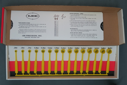 Lee Improved Powder Measure Kit Complete with Load Card