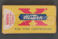 Western 22 Winchester Automatic Rim Fire Cartridges, Top