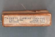 M1 Carbine Grenade Ammo, August 1944
