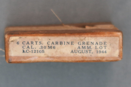 M1 Carbine Grenade Ammo, August 1944