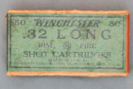 Winchester 32 Long Rim Fire Shot Cartridges, Top