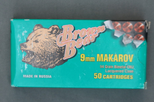 9MM Makarov Cartridges, Top