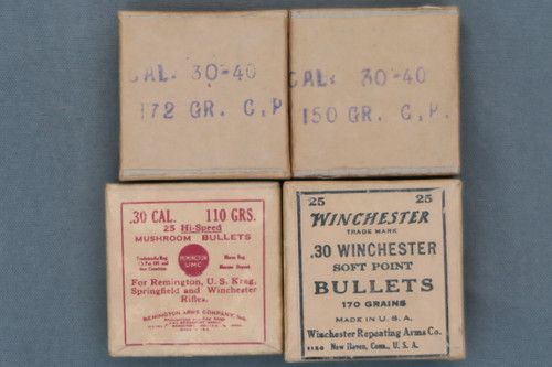 30-40 Krag Rifle Bullets