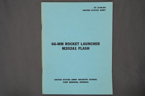 ST 23-90-293 66-MM Rocket Launcher M202A1 Flash