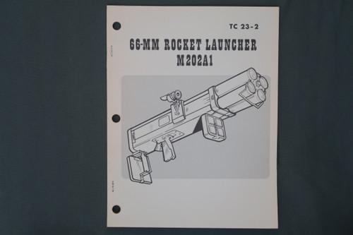 TC 23-2  66-MM Rocket Launcher M202A1