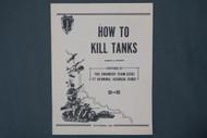 How To Kill Tanks