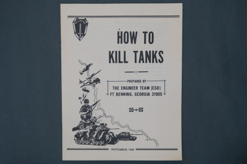 How To Kill Tanks