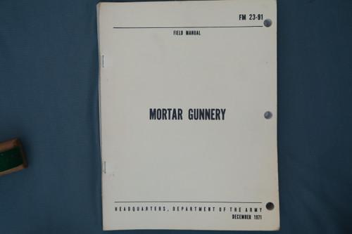 FM 23-91 Mortar Gunnery