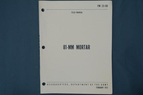 FM 23-90 81-MM Mortar