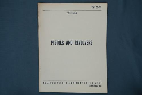 FM 23-35 Pistols And Revolvers