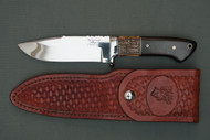 Ron Rosenbaugh Mammoth Ivory Hunting Knife, Left Side