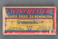 Winchester Super Speed .35 Remington Cartridges, Front