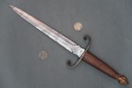Kevin Harvey Scroll Hilt Dagger, Right Side