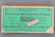 .44 Caliber Webley Cartridges, Top