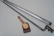 US Model 1873 Trapdoor Bayonet With Scabbard And Frog