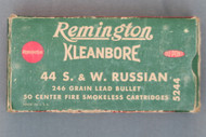 Remington Kleanbore 44 S.&W. Russian Cartridges, Top