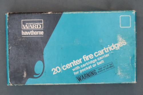 Montgomery Ward Hawthorne 270 Winchester Cartridges, Top