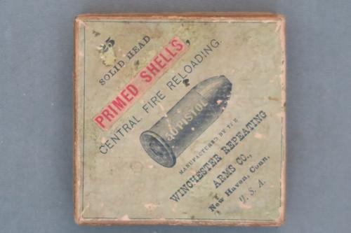 25 Winchester 50 Pistol Primed Shells, Top