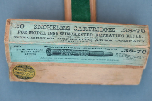 .38-70 Cartridges For Model 1886 Winchester Repeating Rifle