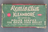 Remington Kleanbore 38 Special Police Service Smokeless Cartridges, Top