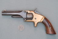 Smith & Wesson Model 1, 2nd Issue Revolver S# 120539, Left Side