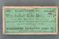 Winchester 1873 .38 Cal Ammo Box, Top