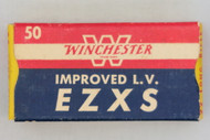 Winchester Improved Low Velocity EZXS 22 Long Rifle 1954 Issue Ammo Top