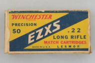 Winchester Precision 50 EZXS 22 Long Rifle Match Cartridges HS38 Top