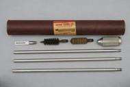 1950s Vintage Outers Laboratories Duraluminum Shotgun Cleaning Rod in Original Tube Full Set
