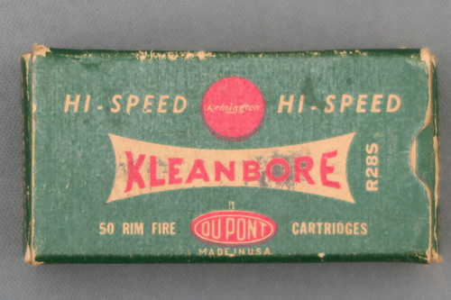 Remington High-Speed Kleanbore 22 Winchester Model 1890 Ammo Top